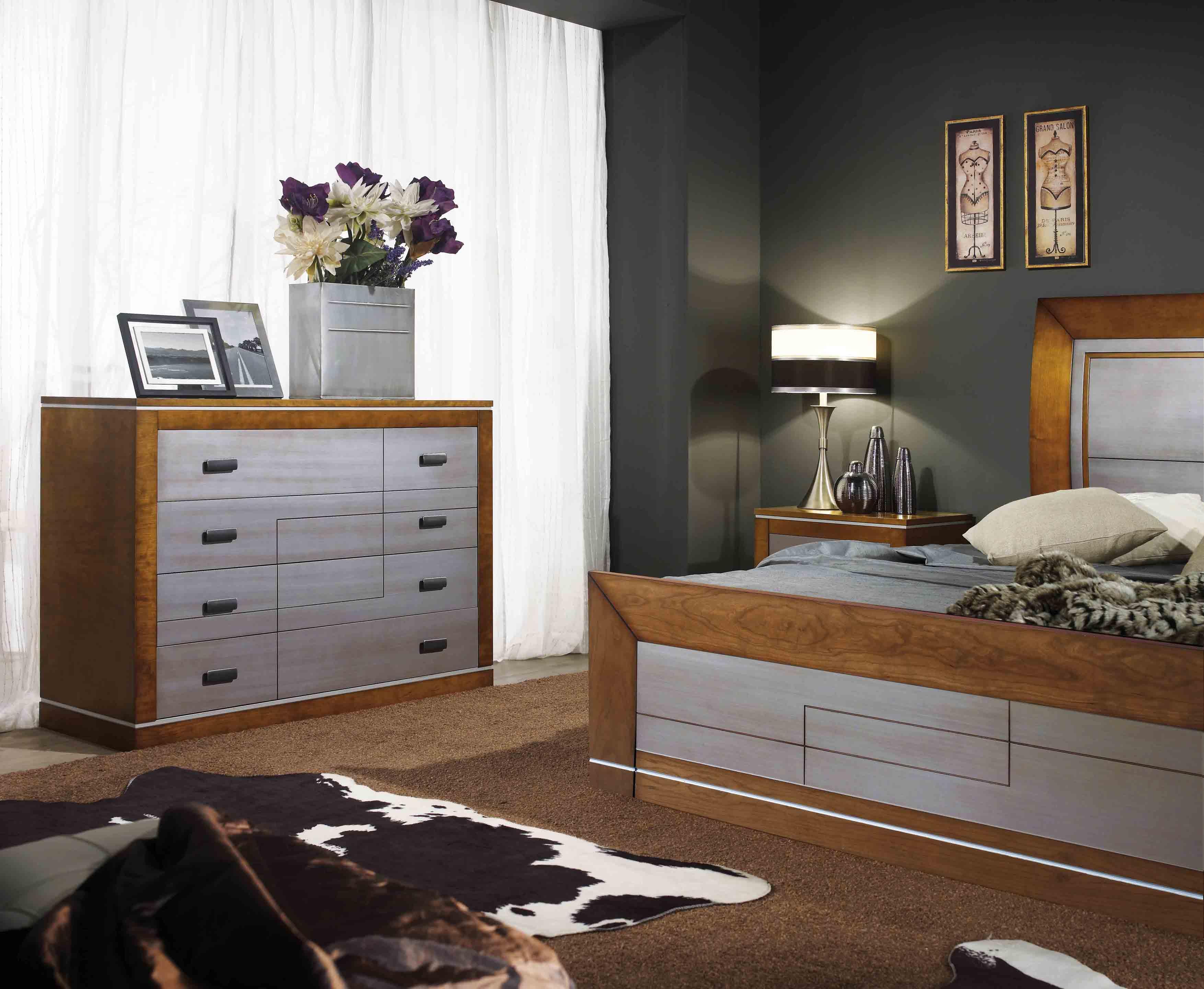 Matrimonio Rustico Moderno : Dormitorio matrimonio moderno merino zaidin