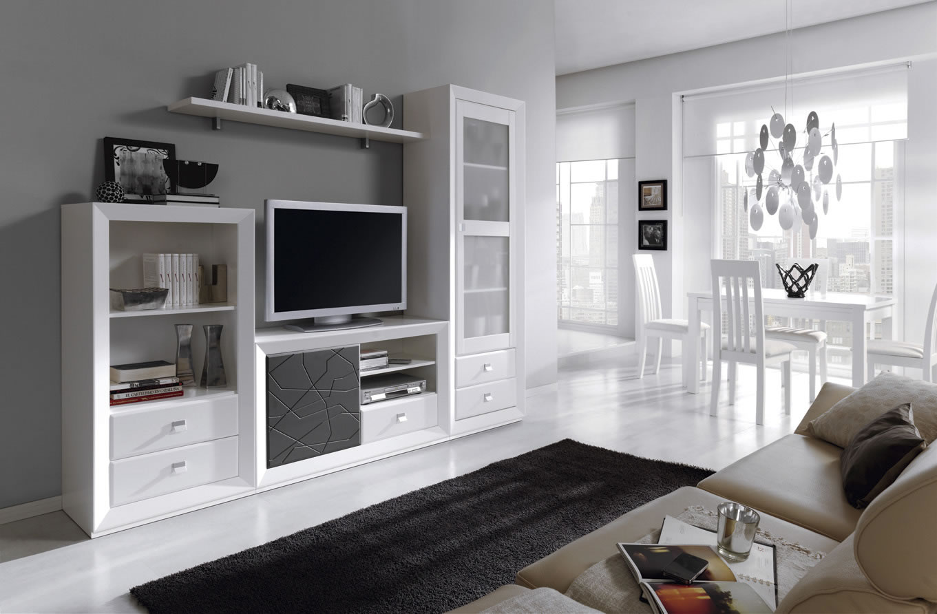 Apilable moderno merino zaidin for Salones modernos blancos