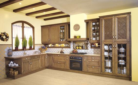 Modelo alba merino zaidin for Muebles de cocina hasta el techo