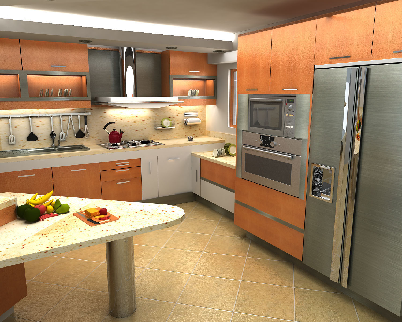 Modelo clara merino zaidin for Cocinas claras modernas