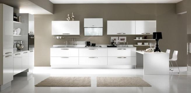 Practicas merino zaidin - Cocinas blancas lacadas ...