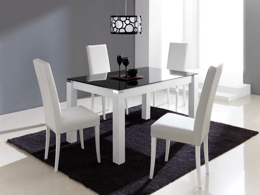 5 premier cristal london merino zaidin for Mesas y sillas de salon modernas